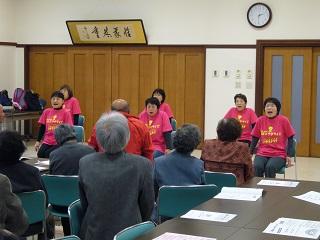 高齢者を対象とした須坂エクササイズの講習