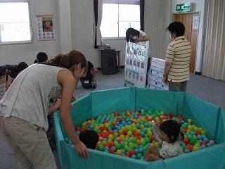 子育て広場での活動